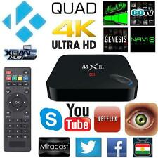 Magic MXIII WiFi Quad Core Android 4.4 4K S802 TV Box  2GB+8GB EU plug ER