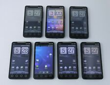 "Lot of 7 Working HTC EVO 4G 4.3"" 1GB Android Smartphones for Sprint"