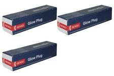 x3 Glow Plugs FOR AUDI A4 8D 1.9 95->01 AHH AHU Diesel 8D2 8D5 B5 Denso