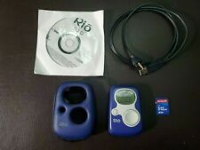Rio S10 64Mb 1st Gen Vintage Mp3 Player Sonic Blue Collectible