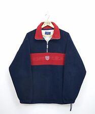 Mens GANT Vintage Rugger Fleece Jacket Zip Neck Size L