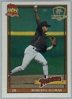 1991 Topps Desert Shield Roberto Alomar #315