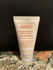 Kiehl's Richly Hydrating Grapefruit Scented Hand Cream 2.5 oz Shea Butter