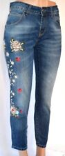R JEANS EMBROIDERED  HIGH RISE  PACKETS PANTS SIZE XS 1803KO