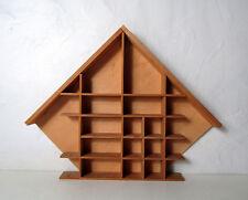 étagère maison à bibelots 34x44cm design scandinave Vintage