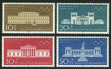 Germany B459-B462, MI 624-627, MNH. Olympics Munich-1972. Buildings, 1970