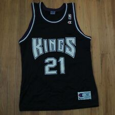 Vlade Divac Sacramento Kings Champion Jersey Size 40 Vintage DS NEW