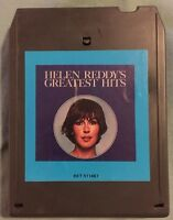Helen Reddy's Greatest Hits 1975 Capitol Records 8-Track Tape 8XT 511467