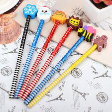 2x  Cartoon Magic Writing Drawing Pencil Eraser For Kids Child  LD