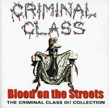 Criminal Class Blood On The Streets-Oi! Collection CD NEW SEALED Punk Skinhead