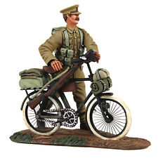 Britains Soldato 23084 - 1914 FANTERIA spingendo BICICLETTA WW1