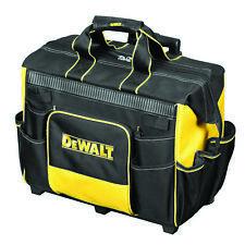 DEWALT Rolling Tool Bag 400x460x295mm Reinforced Body Wide Top Opening*usa BRAND