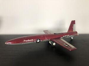 BANDAI REGULUS II -TIN ROCKET/MISSILE NAVY Friction Jet
