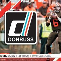 2019 Donruss Season Stat Line NFL Football Parallel Cards Pick From List 1-200
