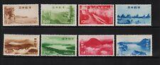 Japan - 1949-50 Parks sets, mint, cat. $ 78.50