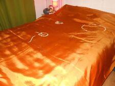 Floral 100% Silk Decorative Bedspreads