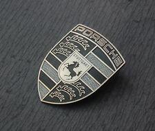 GENUINE PORSCHE Refinished Hood Crest / Emblem / Badge / Shield - FREE SHIPPING!