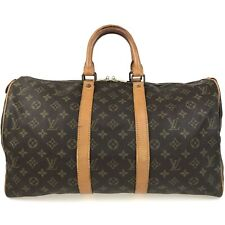 100% authentic Louis Vuitton Monogram Keepall 45 M41428 [Used] {04-0056}