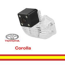 Retrocamara para Toyota Corolla integrada Luz matricula Vision trasera