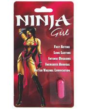 Ninja Girl SEXUAL ENHANCER Woman Sexual Supplement Enhancement Pills X 2 PILLS