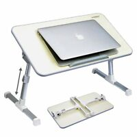 LAPTOP DESK TABLE BED STAND TRAY COMPUTER MOBILE REST NOTEBOOK FOLDABLE