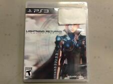 Lightning Returns: Final Fantasy XIII  (Sony Playstation 3, 2014) *USED*