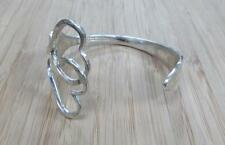 Sterling Silver Tiffany & Co Handmade Fork Wrap Cuff Bracelet 47.4grams 17-I4073