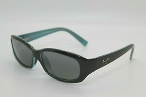 Maui Jim Punchbowl MJ219 03 Black Blue Polarized Made in Italy Sunglasses
