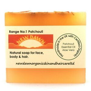 DRY, SORE, CHAPPED, ITCHY SKIN Relief - Organic Soap for Shaving Rash and Rashes