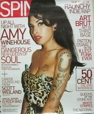 Amy Winehouse 2007 Spin Magazine Promotional Poster Flawless New Old Stock