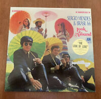 SERGIO MENDES & Brasil '66 Look Around Vinyl Record LP MT-EX 1968 A&M SP4137