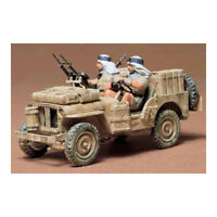 TAMIYA 35033 British SAS Jeep 1:35 Military Model Kit