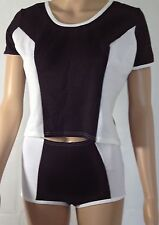 Kurzarm Damen-Sport-Shirts & -Tops mit Rundhalsausschnitt Fitness-Stil