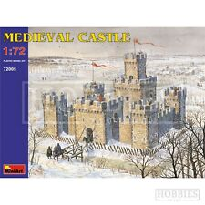 Miniart Medieval Castle 1:72 Scale Historical Model Plastic Kit 312 Parts