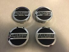 American Muscle center caps set of 4 Ford Mustang GT V6 Cobra Rousch 1994-2018