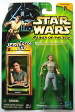 Star Wars POTJ Leia Organa- ROTJ  Endor Battle MOC carded  2000  517