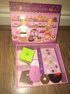 Djeco Tom Et Charlotte Cake Shop Play Set (EX COND)