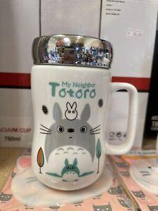 Ghibli TOTORO Ceramic Travel Mug With Lid