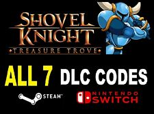 SWITCH/STEAM pc Arby's Kids Meal Game On Shovel Knight Treasure Trove toy DLC