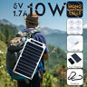 10W 6V Portable Mono Solar Panel USB Port Power Bank For Mobile Phone Charger L