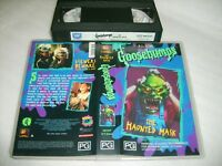 GOOSEBUMPS - THE HAUNTED MASK - 1996 FOX Vhs Issue  R.L.Stine Frightmare Stories