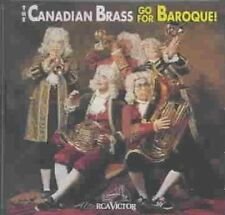 Go for Baroque 0090266810727 by Canadian Brass CD