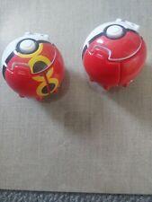 Pair Of Pokeballs Exc Condition Pokemon