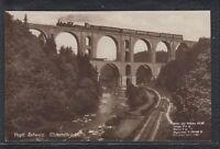 CHE 35067) Echt Foto AK Vogtländische Schweiz Elstertalbrücke m. Eisenbahn
