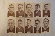 Essendon - Vintage - 1933 - Wills Cigarettes Football Cards - Complete Team Set
