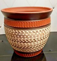 """Beautiful 5 1/2"""" High Handarbeit Germany Pottery Planter Number 2  6  15"""