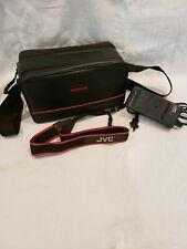 JVC Camcorder Accessory Bundle, JVC AA-V11U Charger Camcorder Strap and Bag