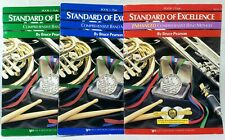 Standard Of Excellence Flute Books Lot 1, 2 & 3 Cd's Instrument School Band