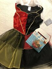 Disney Parks Queen Of Hearts Costume Adult S Nwt