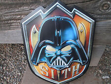 SITH STAR WARS COLLECTIBLE METAL SIGN  19 X 13 LIMITED Edition Decor Gameroom